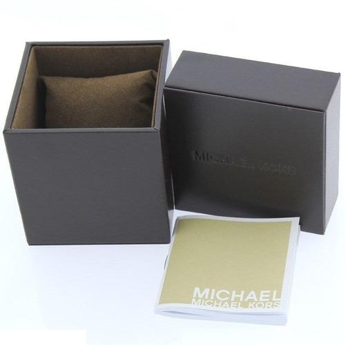 reloj dama michael kors runway acero dorado mk5473 garantia