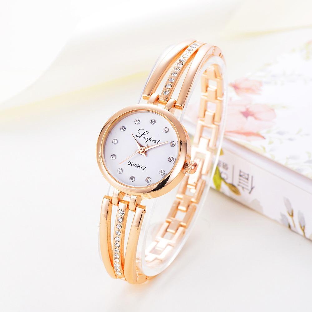 Reloj Dama Mujer Elegante Metálico Lvpai Lp014 -   270.91 en Mercado ... 926c1e3ec10c
