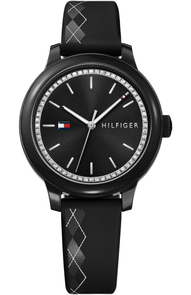 e3aa849a Reloj Dama Mujer Tommy Hilfiger Original Negro Envio Gratis