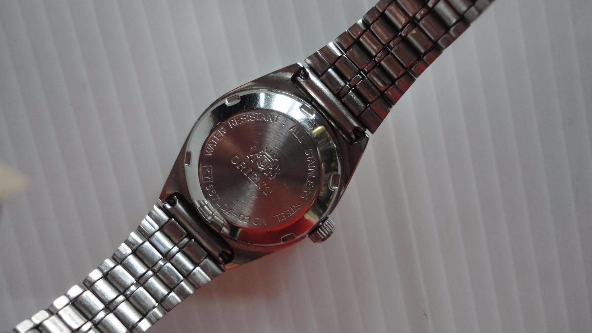 Reloj Dama Orient Autom 225 Tico 21 Rubies Japon 233 S Impecable
