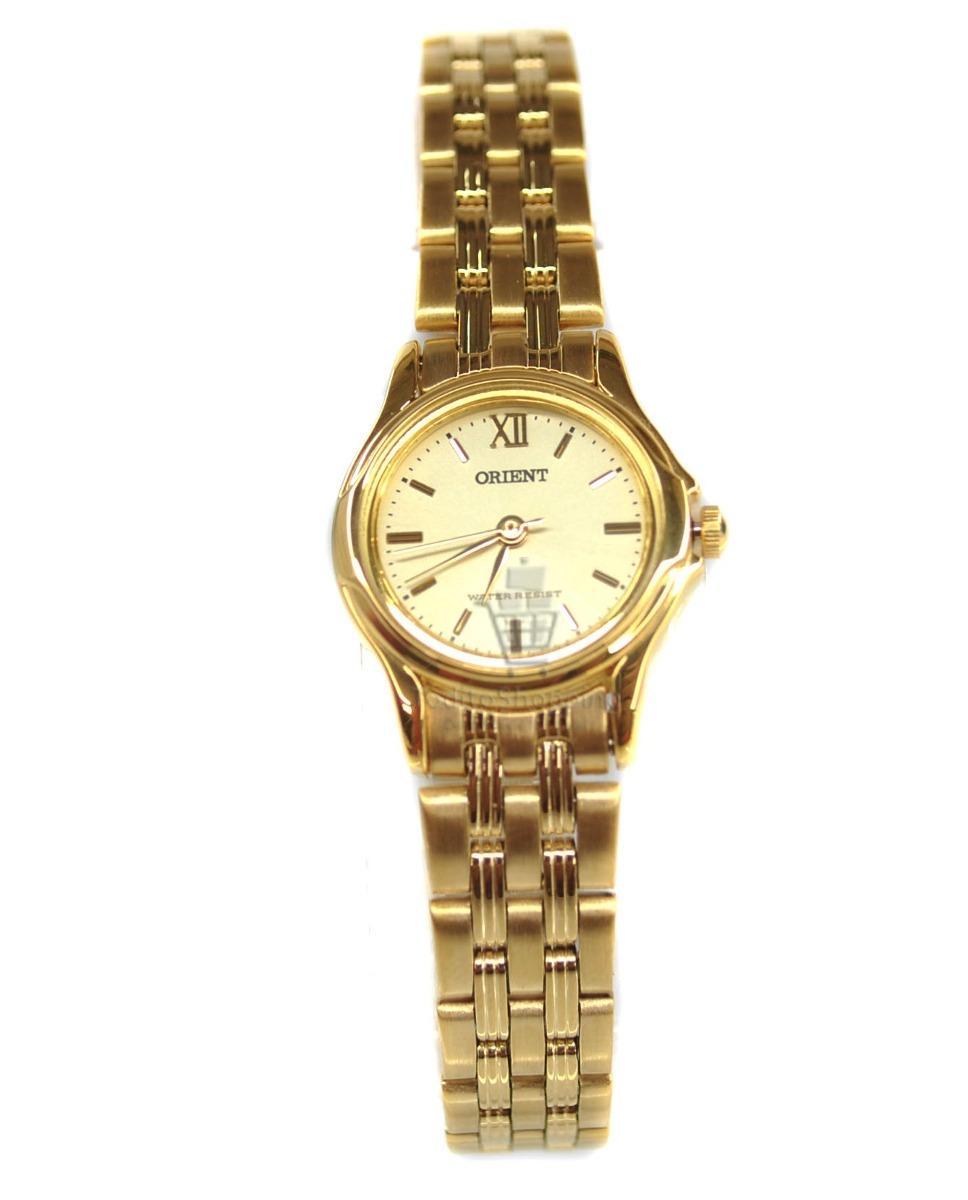 Reloj Dama Orient Original Gold Fondo Dorado Mod. Ub5c-n0-a ... 52db9d90e381