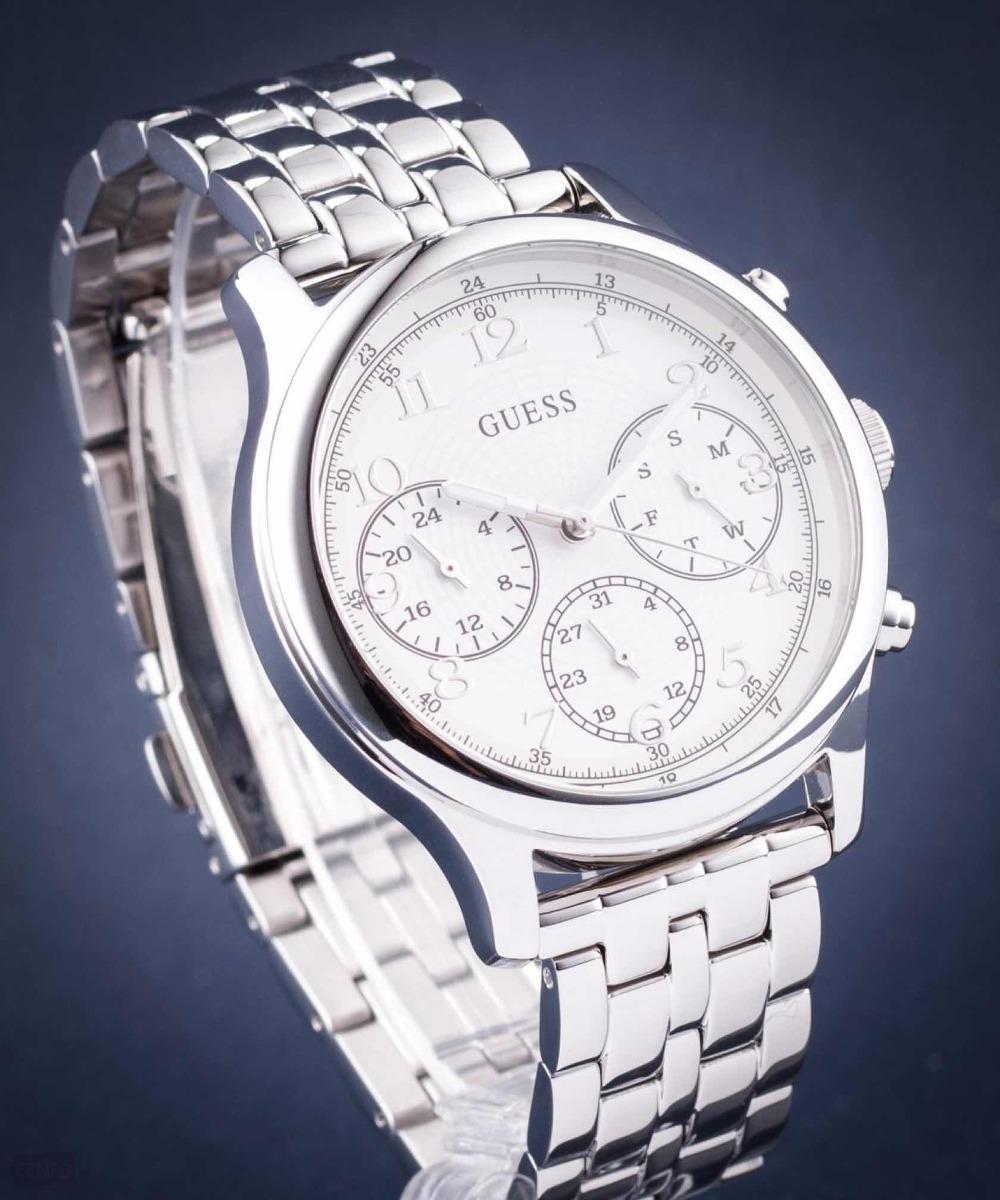 c802bef42f28 Reloj Dama Plateado Guess W1018l1 Original -   439.900 en Mercado Libre