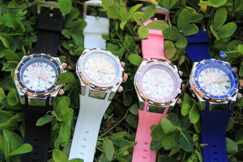reloj dama pulsera colores variados mujer