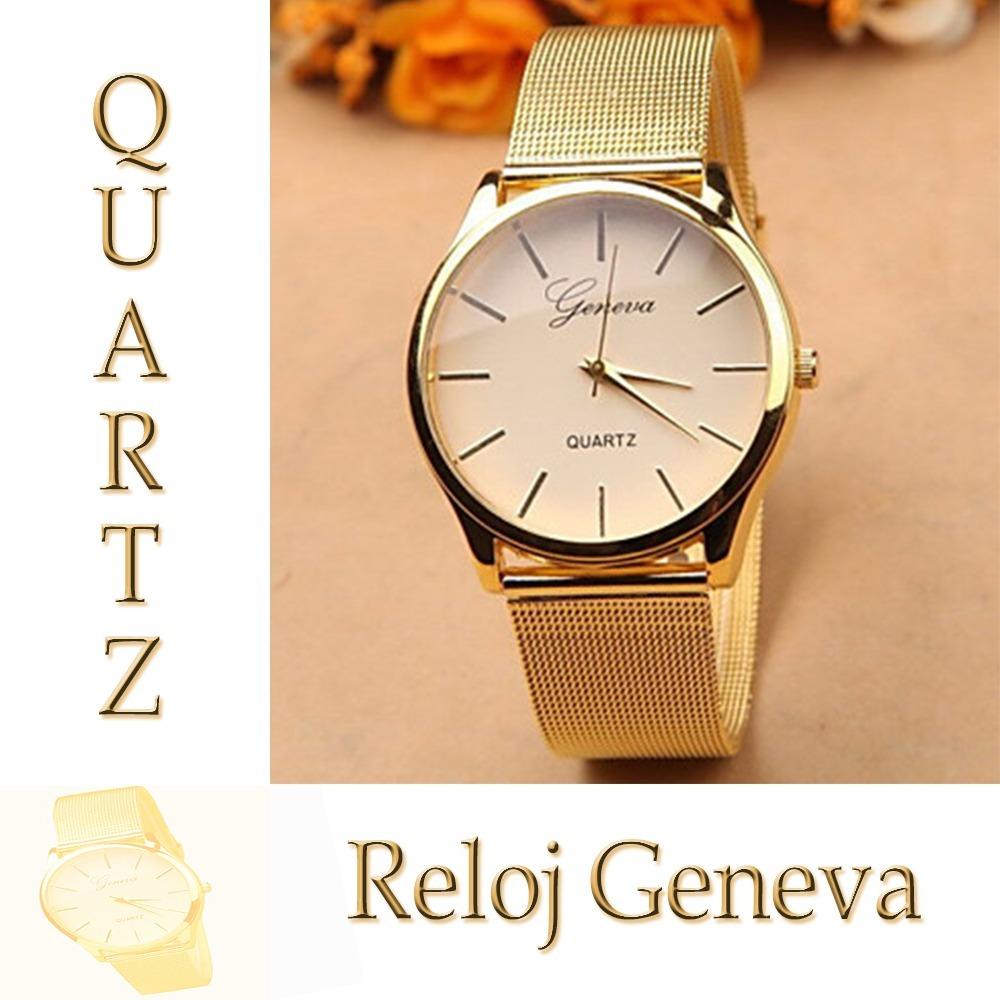 mirada detallada 6ff05 97908 Reloj Dama/mujer, Reloj Casual & Vestir, Moda Reloj Dorado