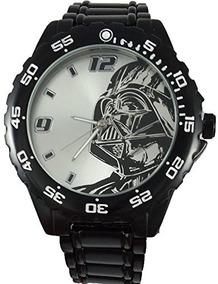 Reloj Negrod Darth Star Con Wars Vader Pulsera Metal De ym0Ov8nNw