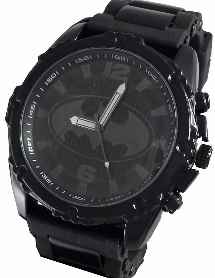 Para Reloj Mercado Batman Hombres Dc 650 Comics En Negro2 00 Libre 8nwk0OPX