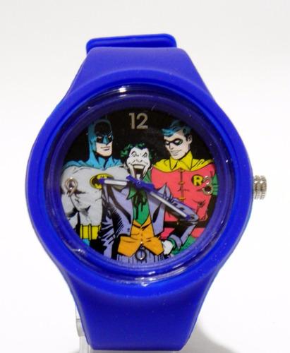 reloj dc de coleccion batman,robin y wason original.