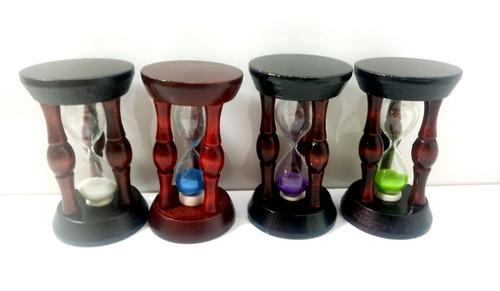 reloj de arena chico de madera // relojes de arena de madera