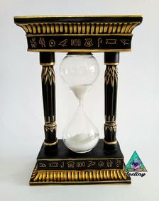 Con Arena Símbolos Escarabajo Ojo De Orus Reloj Y Egipcios QChsdtr