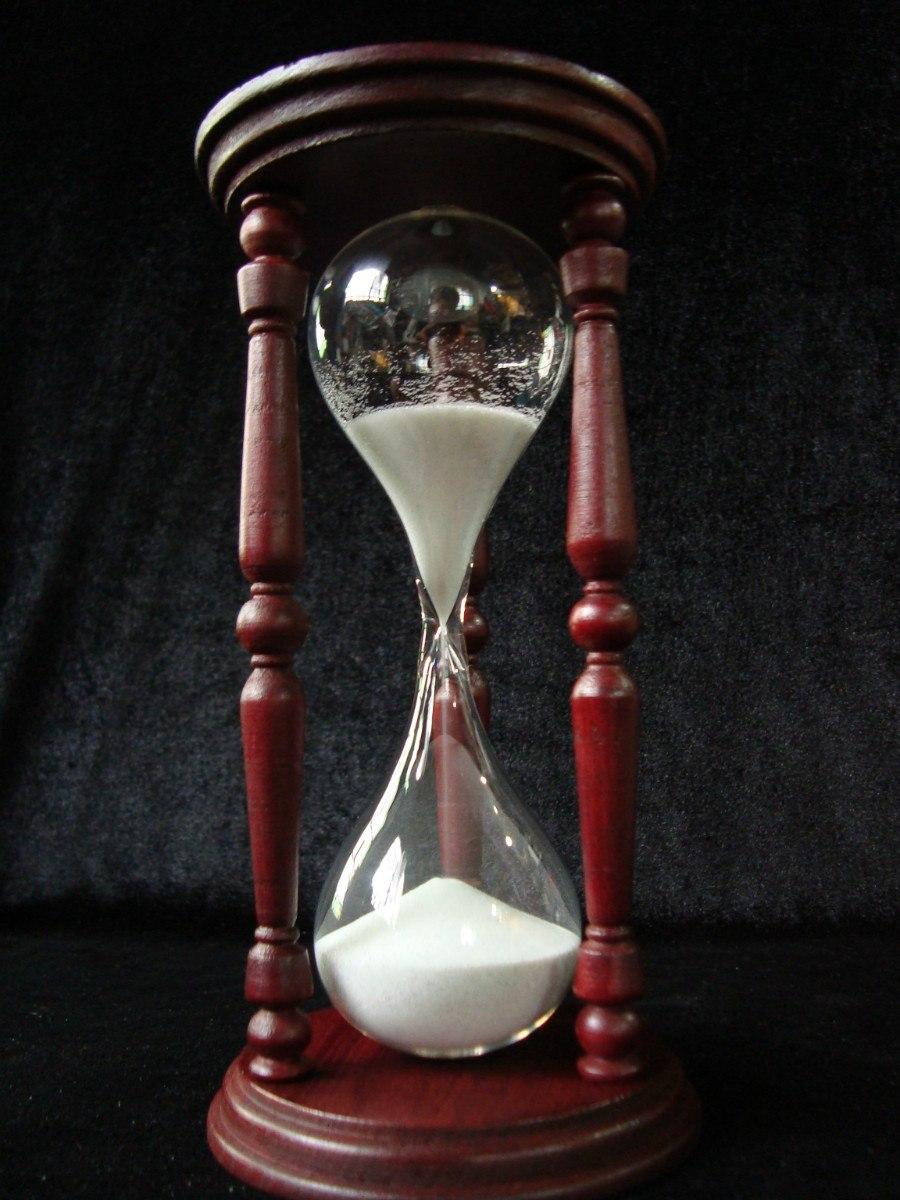 Reloj De Arena Torneado 50 Premium 20x10 Cm 298999 En