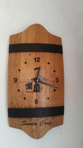 reloj de barril