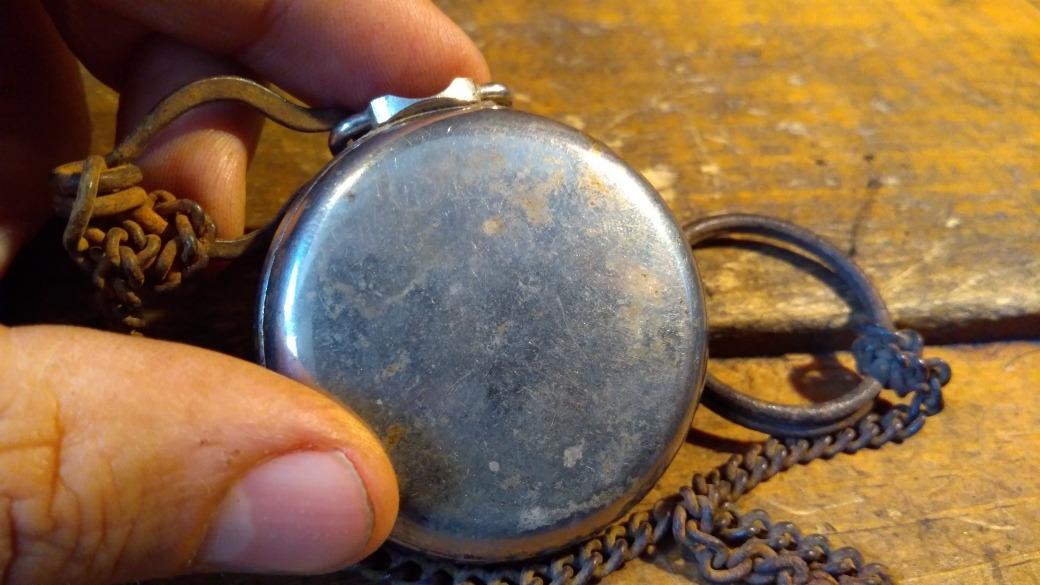 27bae91c7 Reloj De Bolsillo Americano Muy Antiguo Bull Eye La Salle - $ 300.00 ...
