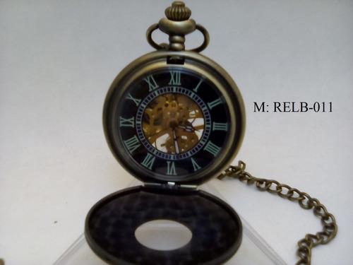 reloj de bolsillo cuerda estilo antiguo relb-011