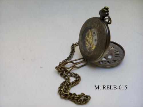 reloj de bolsillo cuerda estilo antiguo relb-015