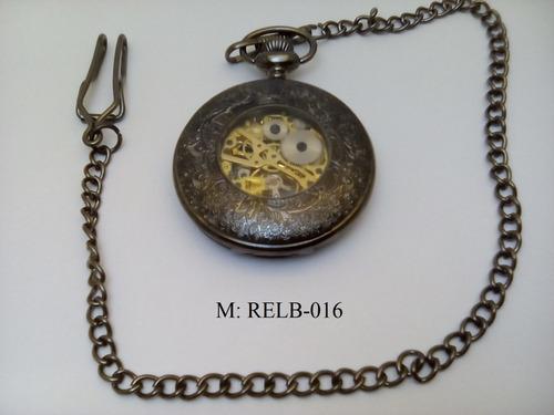 reloj de bolsillo cuerda estilo antiguo relb-016