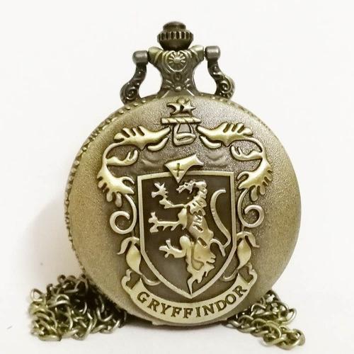 reloj de bolsillo de gryffindor  harry potter