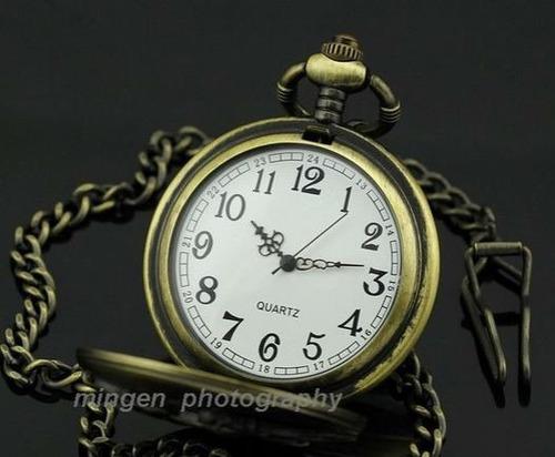 reloj de bolsillo estilo antiguo regalo papa dia del padre!!