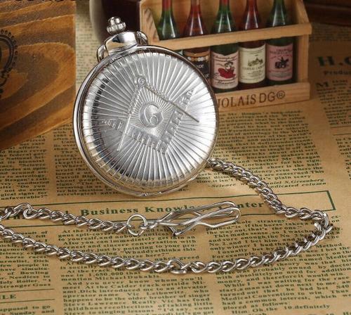 reloj de bolsillo para mason