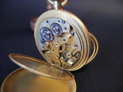 reloj de bolsillo suizo c.1900  fase de luna vale la pena!!!