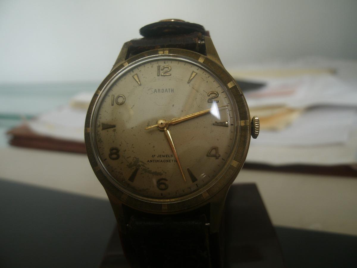13d7567901a3 Reloj De Caballero Ardath Años 50 Cuerda Caja De Bronce - Bs. 94.589 ...