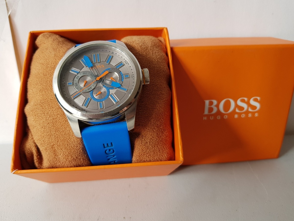 0102c7771d66 reloj de caballero hugo boss orange sin fallas hermoso. Cargando zoom.