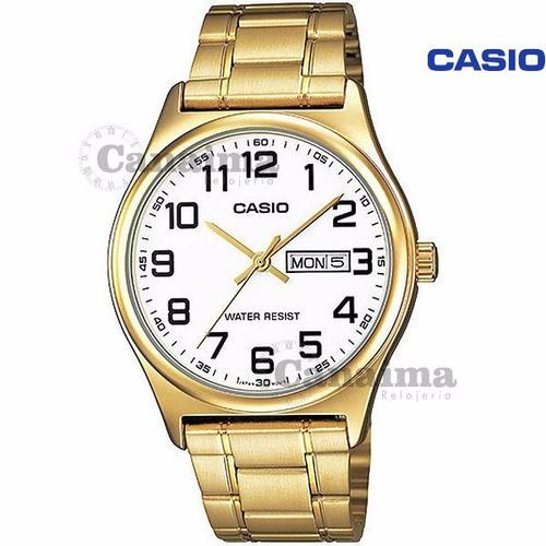 reloj de caballero mtp-v003g-7budf