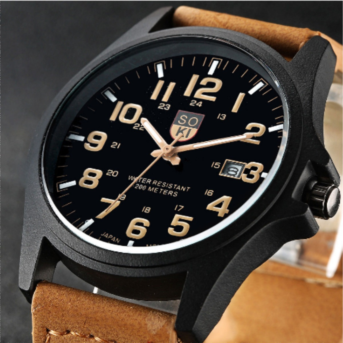 a2169f7826a7 Reloj De Caballero Soki - 3 Bar - Deportivo