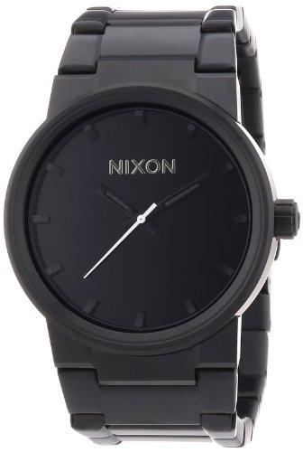 Negro Reloj Todos Hombre De Nixon Cañón Los qpUzSMVG