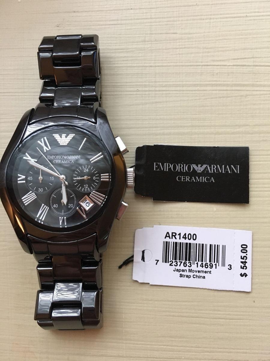 2936af3857b2 reloj de cerámica emporio armani para hombre ¡nuevo! ¡nunca. Cargando zoom.
