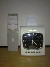 Personal Reloj De Fichero Control Electronico Tarjetas BeCodrWx