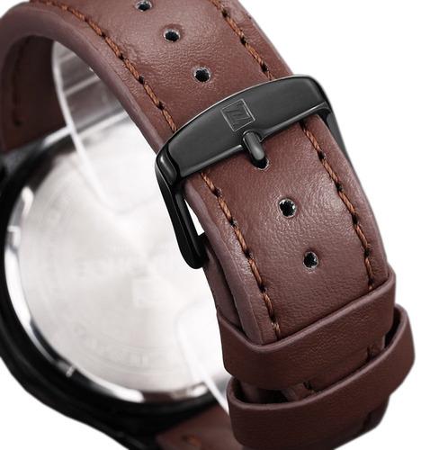 reloj de cuarzo analógico tonnier para hombre calendario rel