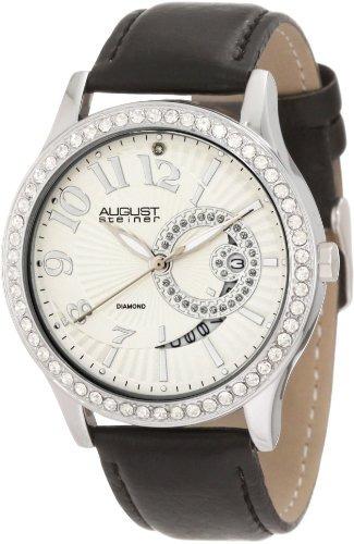 reloj de cuarzo con diamante asa842ss de august steiner para