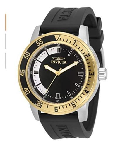 reloj de cuarzo de acero inoxidable invicta modelo 34097