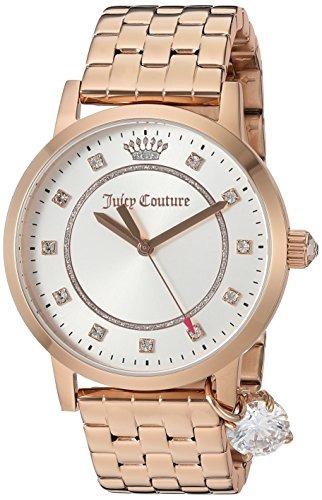 reloj de cuarzo de cuarzo de oro socialite juicy couture