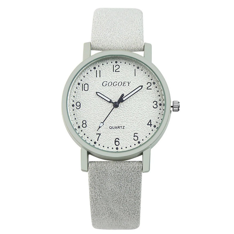 reloj de cuarzo gris marca gogoey mujer elegante de moda. Cargando zoom. 715d26f2ed7c