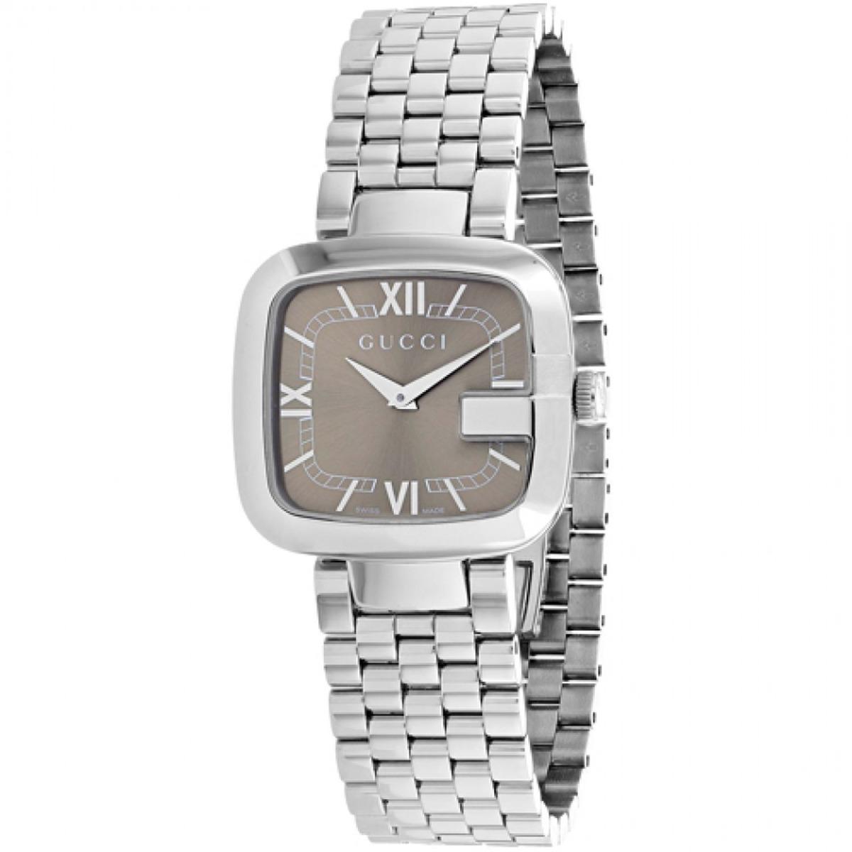 6bada3d13 reloj de cuarzo gucci ya125413 para mujer g-gucci tono plat. Cargando zoom.