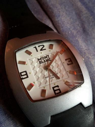 reloj de cuarzo mont blanc