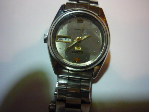 reloj de dama seiko 5.......... japones automatico.