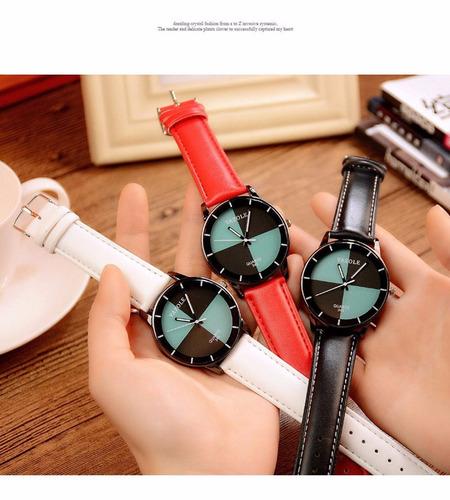 reloj de dama yazole elegante y casual 3