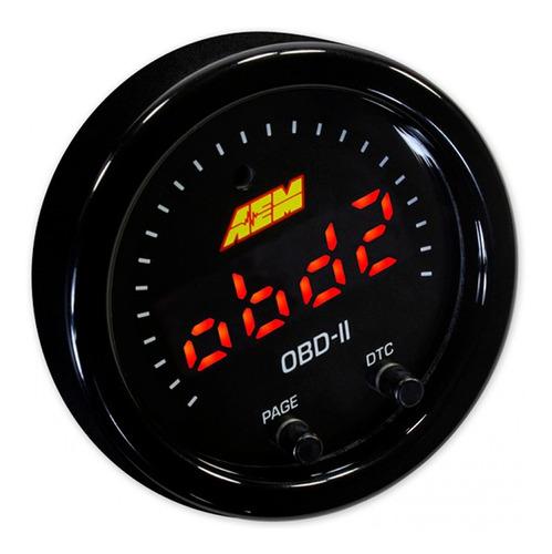 reloj de datos por obd2 x-series aem