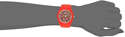 reloj de dial tko cool rubber rubber gum ball rojo para adol