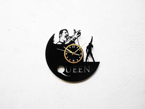 reloj de disco vinilo vinil acetato lp queen freddie mercury