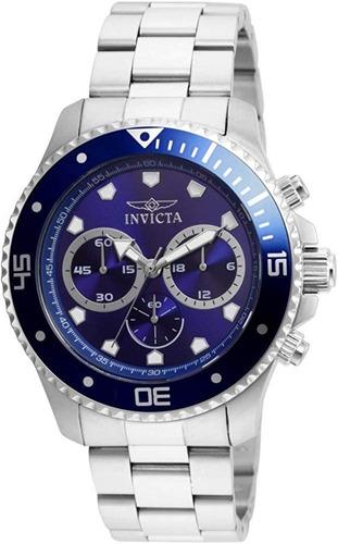 reloj de hombre azul invicta 21788 44mm pro diver promoción!