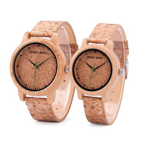 e66b29709a0d Reloj De Hombre Deportivo Casual De Madera De Bambú - S  94