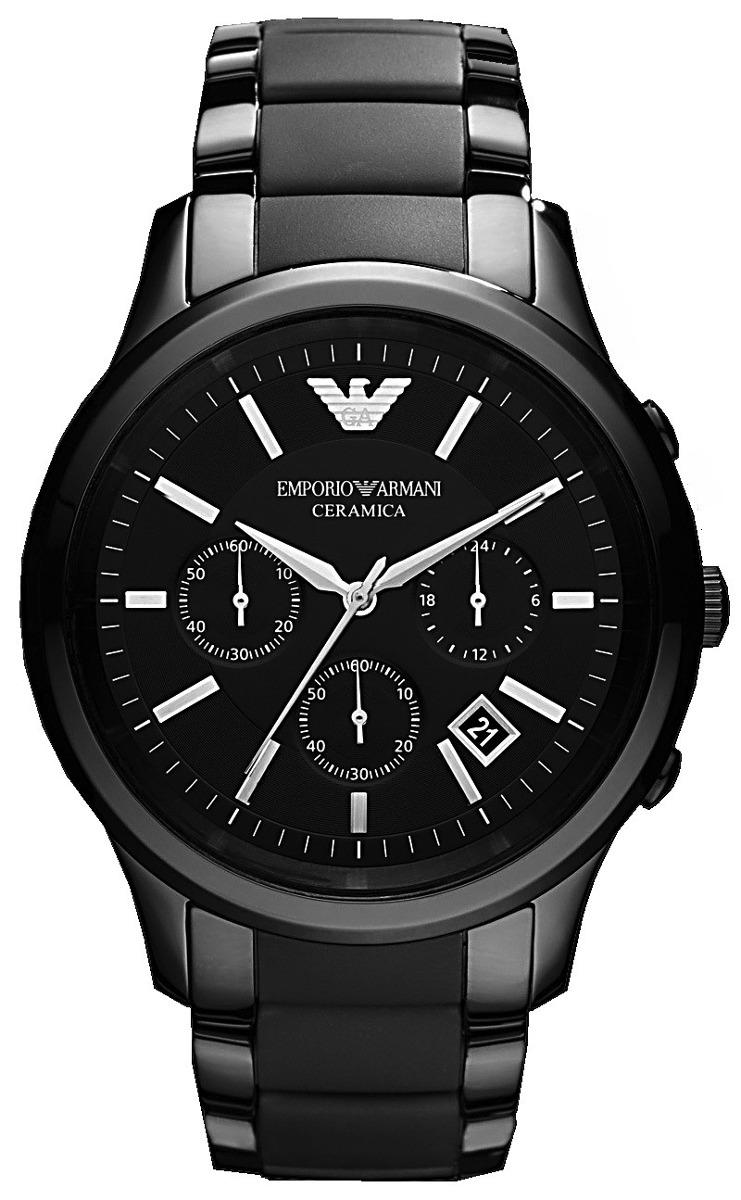 b5c21fc4d0 reloj de hombre emporio armani cerámica elegancia exclusivo. Cargando zoom.