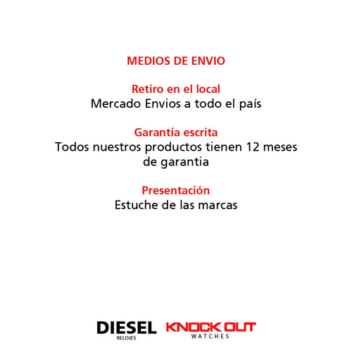 reloj de hombre europa by diesel 4002 033 wr malla cuero