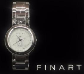 Reloj De Hombre Metalico Finart Quartz Original