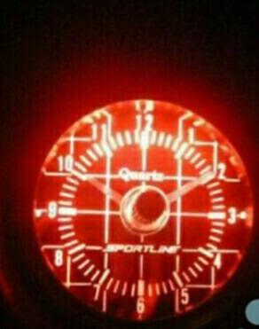 reloj de hora automotriz universal 12v