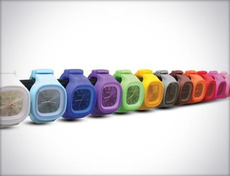 reloj de la marca blu todo los colores disponible
