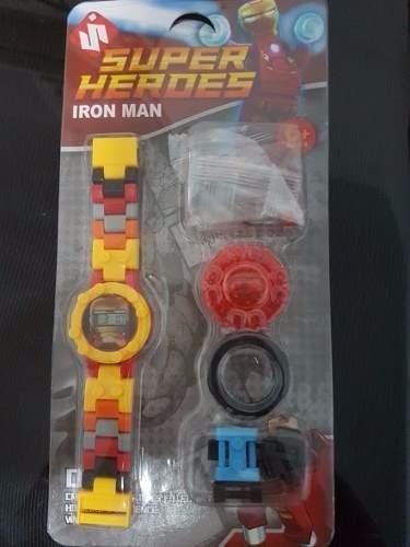 reloj de lego niño
